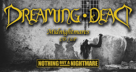 "Dreaming Dead ""Midnightmares"" CD/LP Available Now from Nothing But A Nightmare"