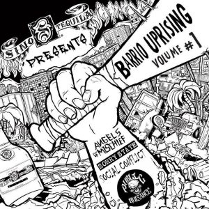 Barrio Uprising Compilation 7""