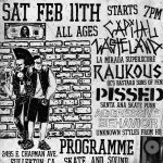 Raukous & Capital Wasteland Show