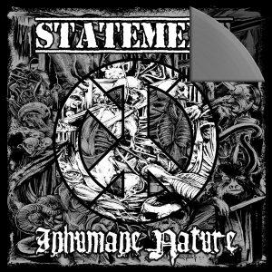 """Statement / Inhumane Nature - Split 7"""" on Grey Vinyl"""