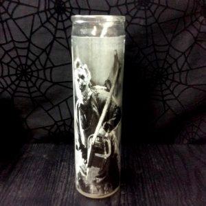 "Leatherface 8"" Prayer Candle"