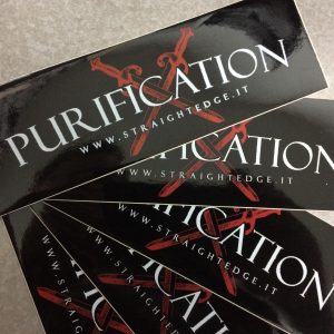 Purification Sticker