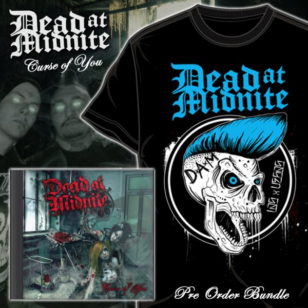 "Dead At Midnite ""Curse of You"" CD & Shirt Bundle"