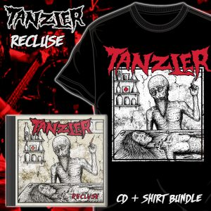 "Tanzler ""Recluse"" CD & Shirt Bundle"