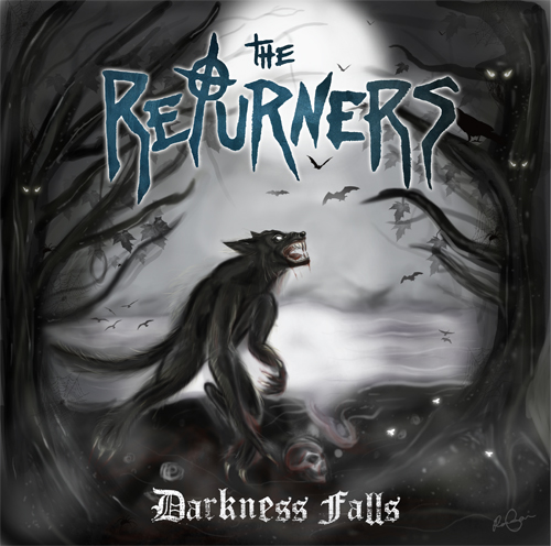 The Returners Darkness Falls Cover Artwork