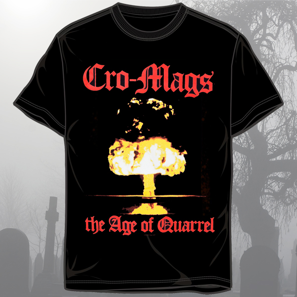 "Cro-Mags ""Age of Quarrel"" Shirt"