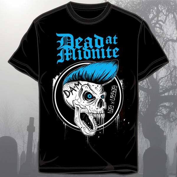 """Dead At Midnite """"Psycho Skull"""" Shirt"""