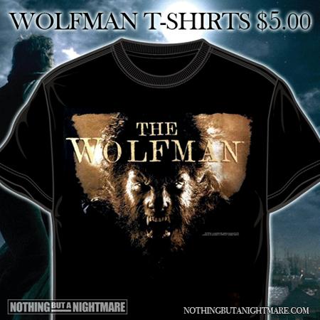 Wolfman T-Shirt Sale